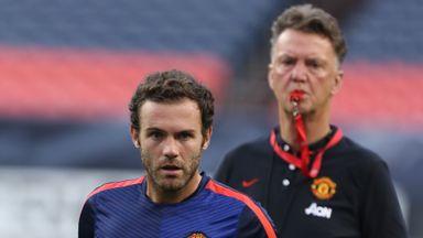 Mata thanks 'amazing' Van Gaal