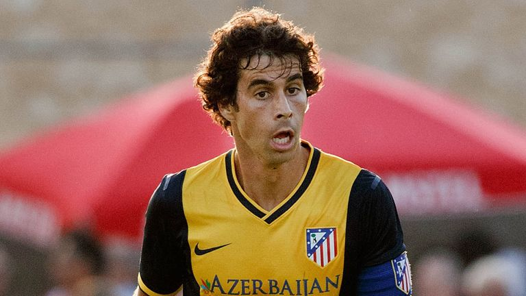 Tiago: Opted to sign a new deal with Atletico Madrid rather than move on