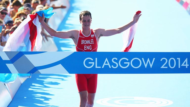 Alistair Brownlee: Added Commonwealth Games gold to his Olympic title