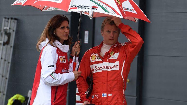 Raikkonen had a Silverstone to forget