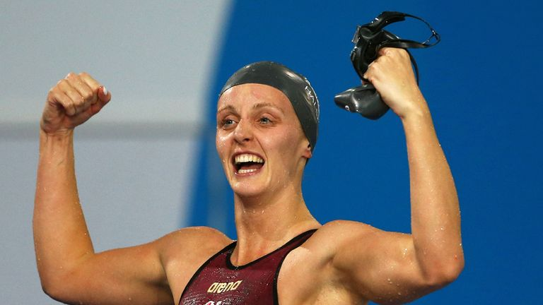 Fran Halsall: Clinched gold medal in women's 50m freestyle