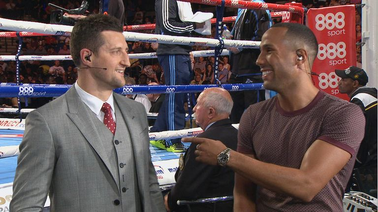 Froch will be relaxed and 'not talking about himself' when ringside with Sky Sports