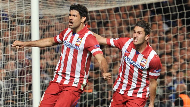 Diego Costa enjoyed great success at Atletico Madrid