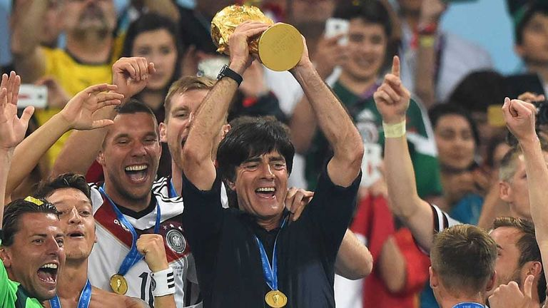 Low lifted the World Cup trophy in Brazil after a 1-0 win over Argentina