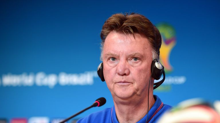World Cup: Louis Van Gaal Says Netherlands Are Playing A