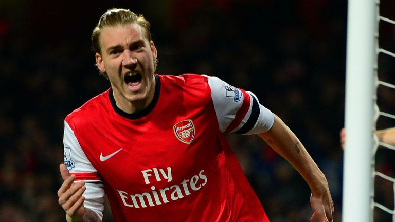 Nicklas Bendtner scored 47 goals in 171 games during his Arsenal career
