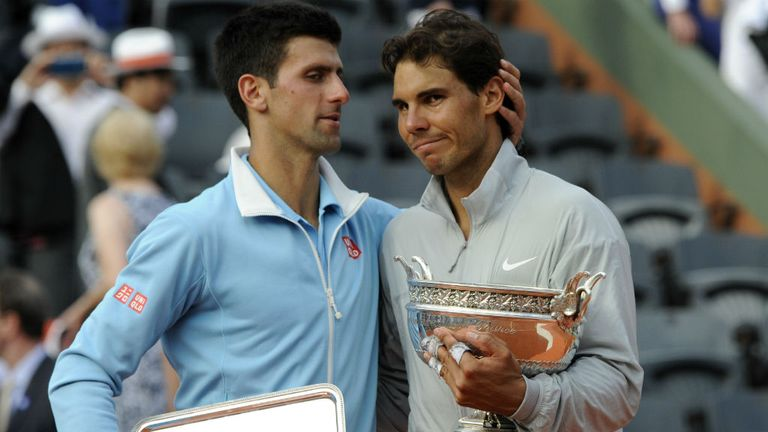Nadal beat Djokovic to claim the 2014 title