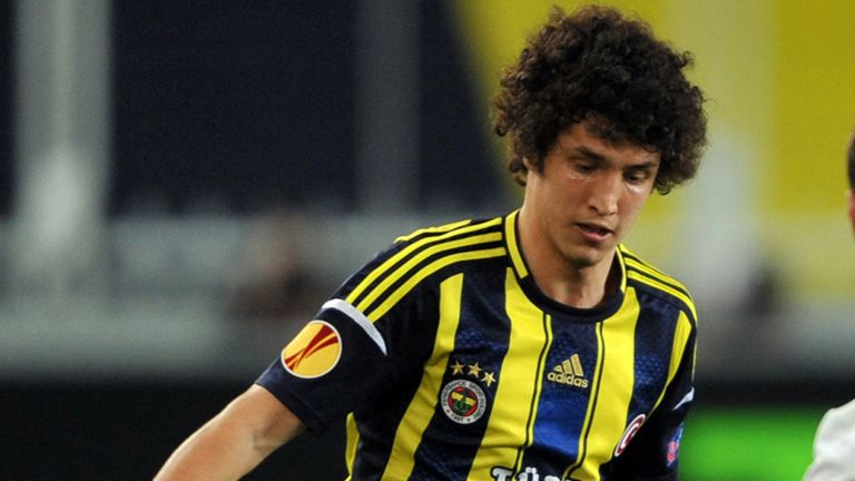 Salih Ucan: Completes move from Fenerbahce to Roma