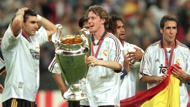 Steve McManaman was one of the first British players to benefit from the Bosman rule when moving from Liverpool to Real Madrid in 1999