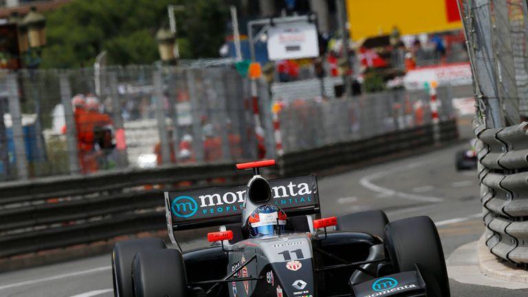 Will Stevens in FR3.5 action in Monaco