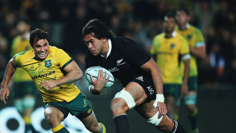 All Black backrow Steven Luatua starts for the Barbarians at blindside