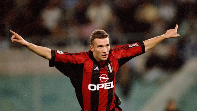 Andriy Shevchenko: Woe after Milan