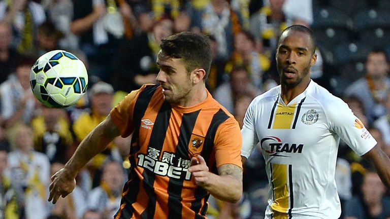 Robbie Brady: Netted twice as Hull lost to Belgians on away goals