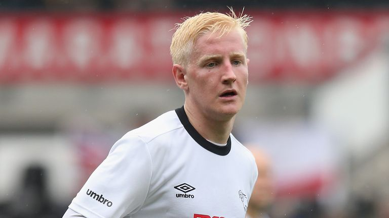 Will Hughes came through Derby's academy and stars for England U21s