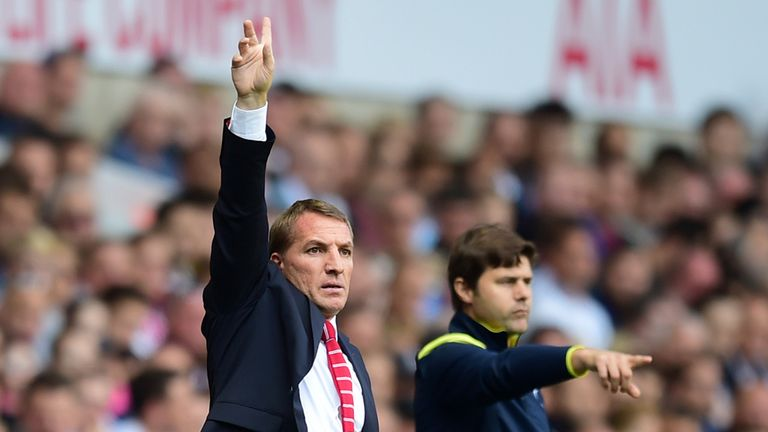 Brendan Rodgers and Mauricio Pochettino have steered their sides up the Premier League table