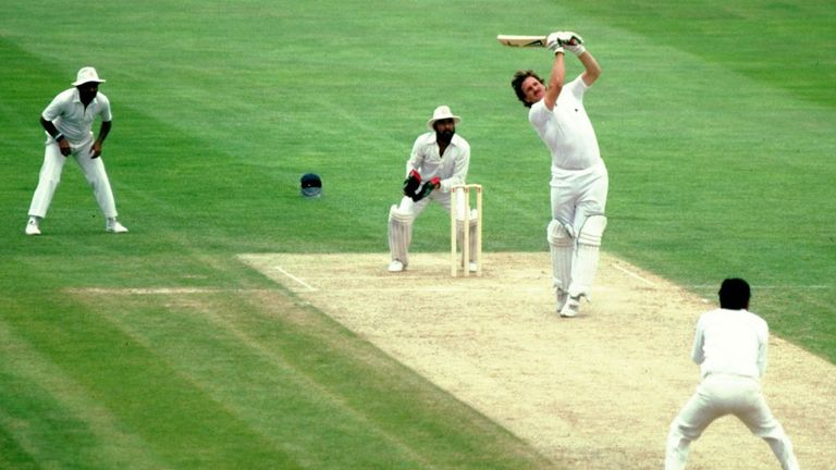 Ian Botham: never allowed India's spinners to settle