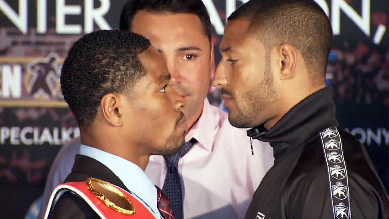 Shawn Porter and Kell Brook: will get it on in the early hours of the Sunday morning.