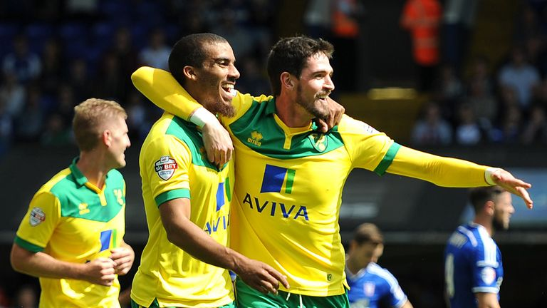 Lewis Grabban: Hit the second for Canaries