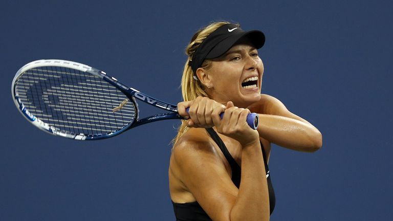 Maria Sharapova: Recovered from a slow start