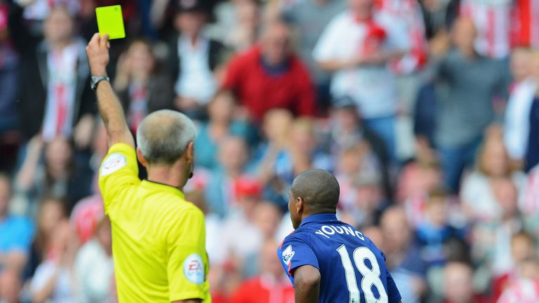 Young: Booked for diving