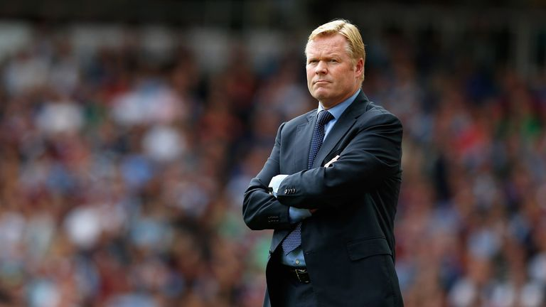 Ronald Koeman had to cancel plans with his wife due to the dedication of his squad