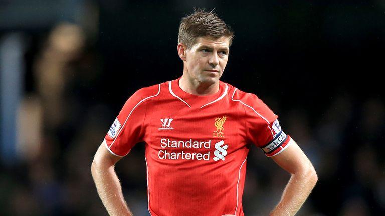 Steven Gerrard: The Liverpool captain believes the team have improved despite the sale of Luis Suarez.