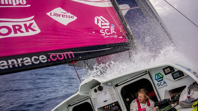 Annie Lush ready for 'tough' Volvo Ocean race