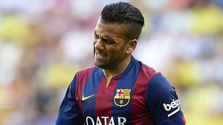 Dani Alves: Heading for Premier League?