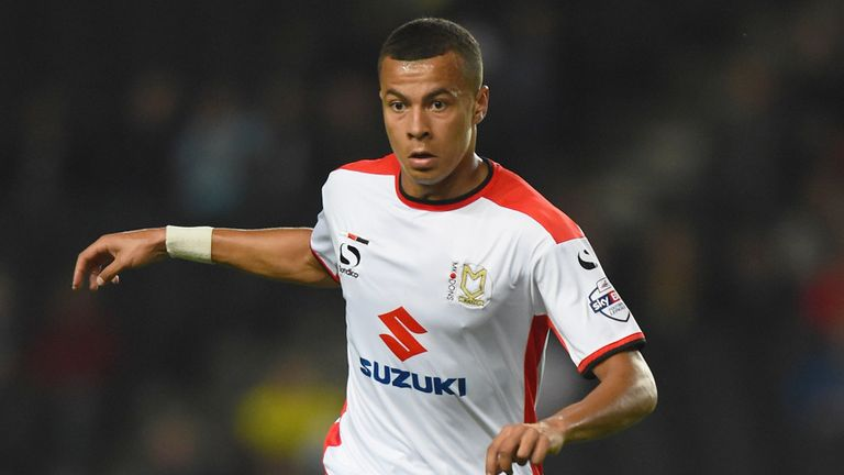 Dele Alli will remain on loan with MK Dons for the rest of the season