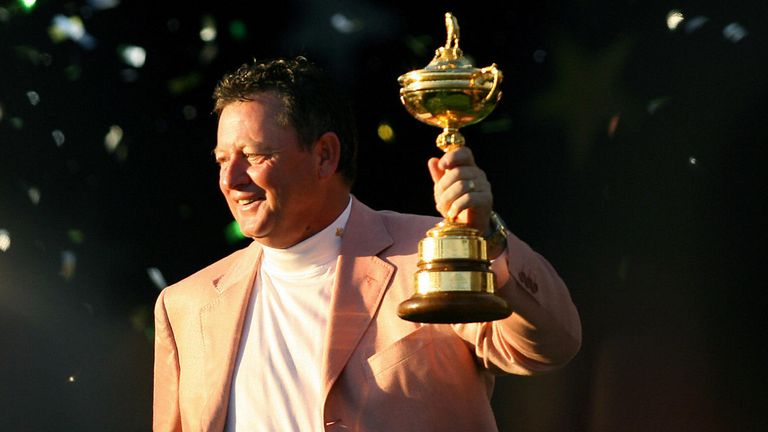 Ian Woosnam was the victorious Ryder Cup captain at the K Club in 2006