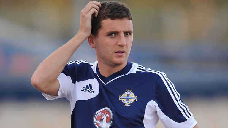 Alex Bruce switched to Northern Ireland after winning two caps for the Republic of Ireland