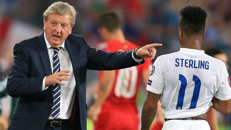 England international Sterling hits back on Twitter