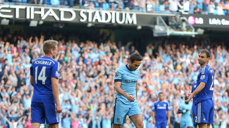 Frank Lampard refused to celebrate a late equaliser against his former club