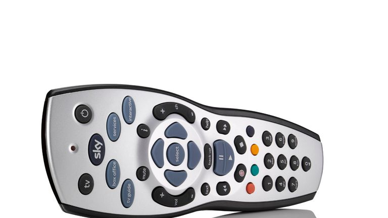 You can switch on audio description via your Sky remote