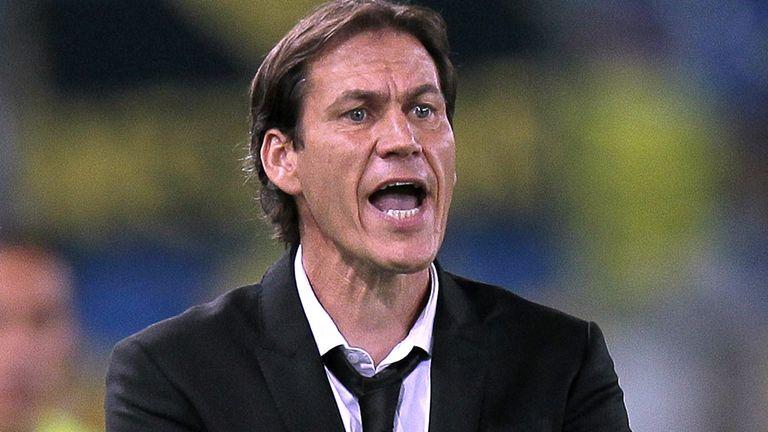 Rudi Garcia is under pressure in the Italian capital
