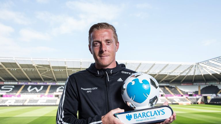 Garry Monk: Three wins in three games in August