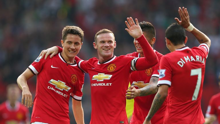 Wayne Rooney: Skippered United to impressive win