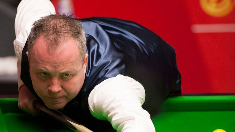 John Higgins: Knocked out at last-64 stage
