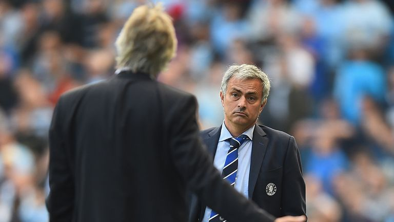 Jose Mourinho: Refuse to get into war of word with Manuel Pellegrini