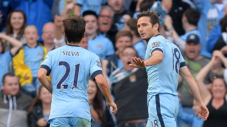 Frank Lampard: A muted celebration after his late equaliser