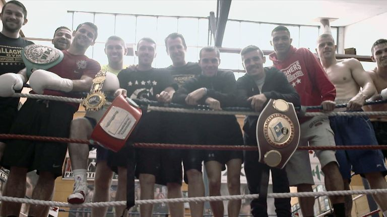 Gallagher's Gym is busy and buzzing, with more success to come