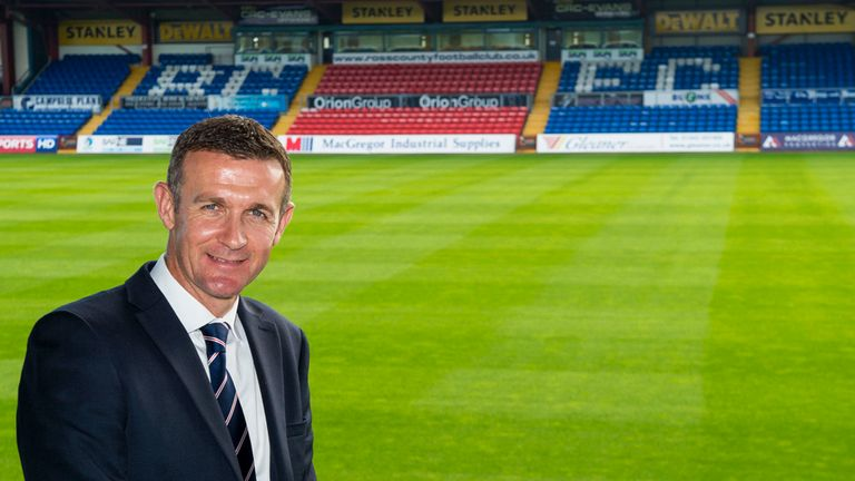 Jim McIntyre; Busy re-shaping his squad in Dingwall