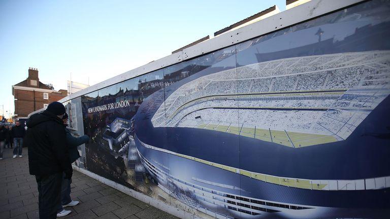 Image of Tottenham's planned new stadium