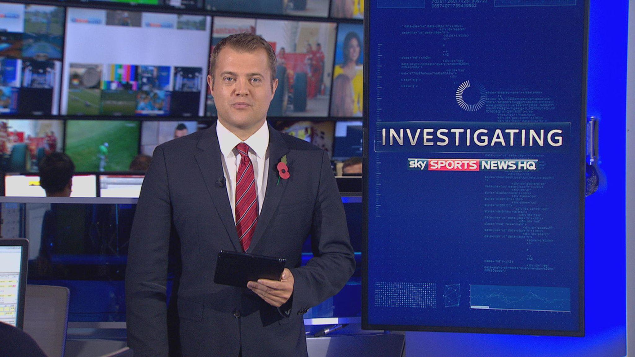 Sky Sports News: Latest headlines from the Investigations desk   News News    Sky Sports