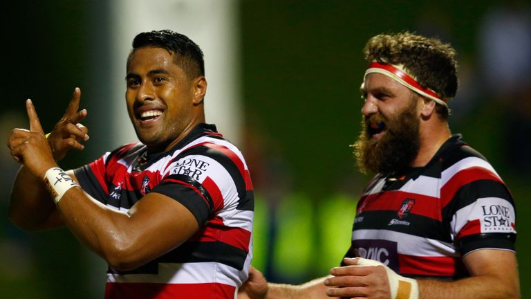 Ahsee Tuala: The Samoa international has joined Northampton for the 2014-15 season