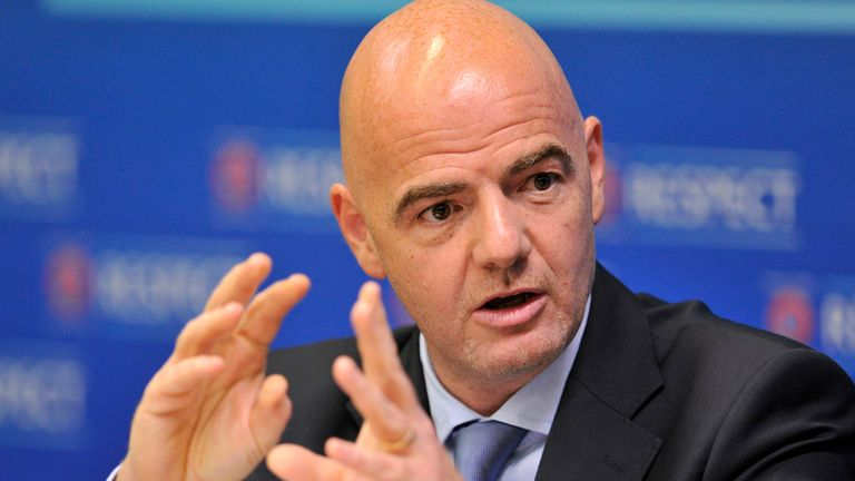 UEFA's general secretary Gianni Infantino says Champions League seeding will change.
