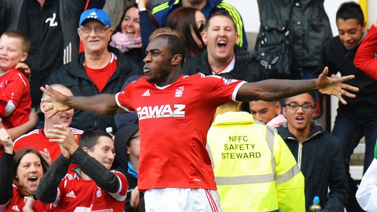 Michail Antonio: Contributed assists for Forest