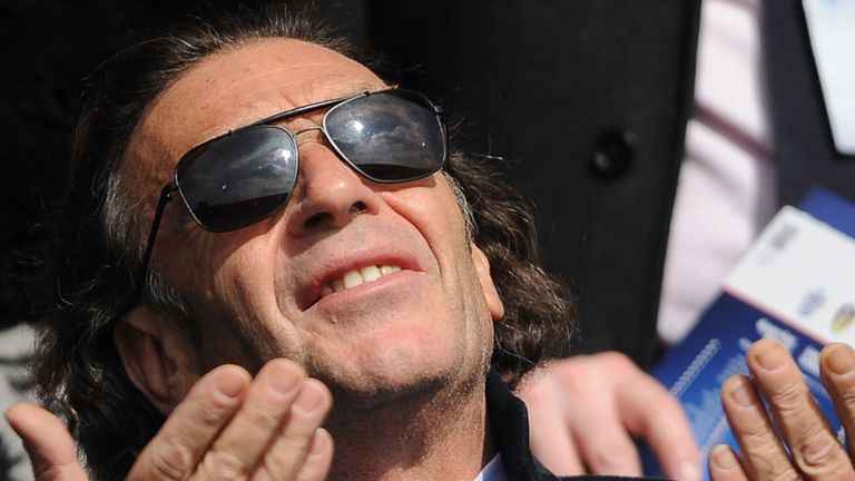Massimo Cellino: Controversial owner of Leeds United