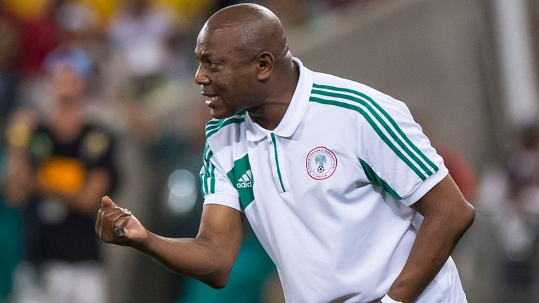 Stephen Keshi: Just one win in last 11 games as Nigeria coach