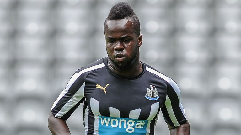Newcastle United's Cheik Tiote has made the move to China